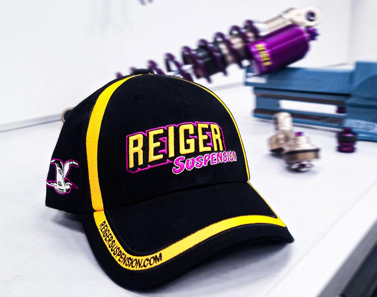 Cap with Motto - Reiger Suspension