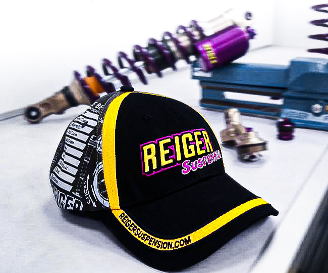 Cap with Print - Reiger Suspension