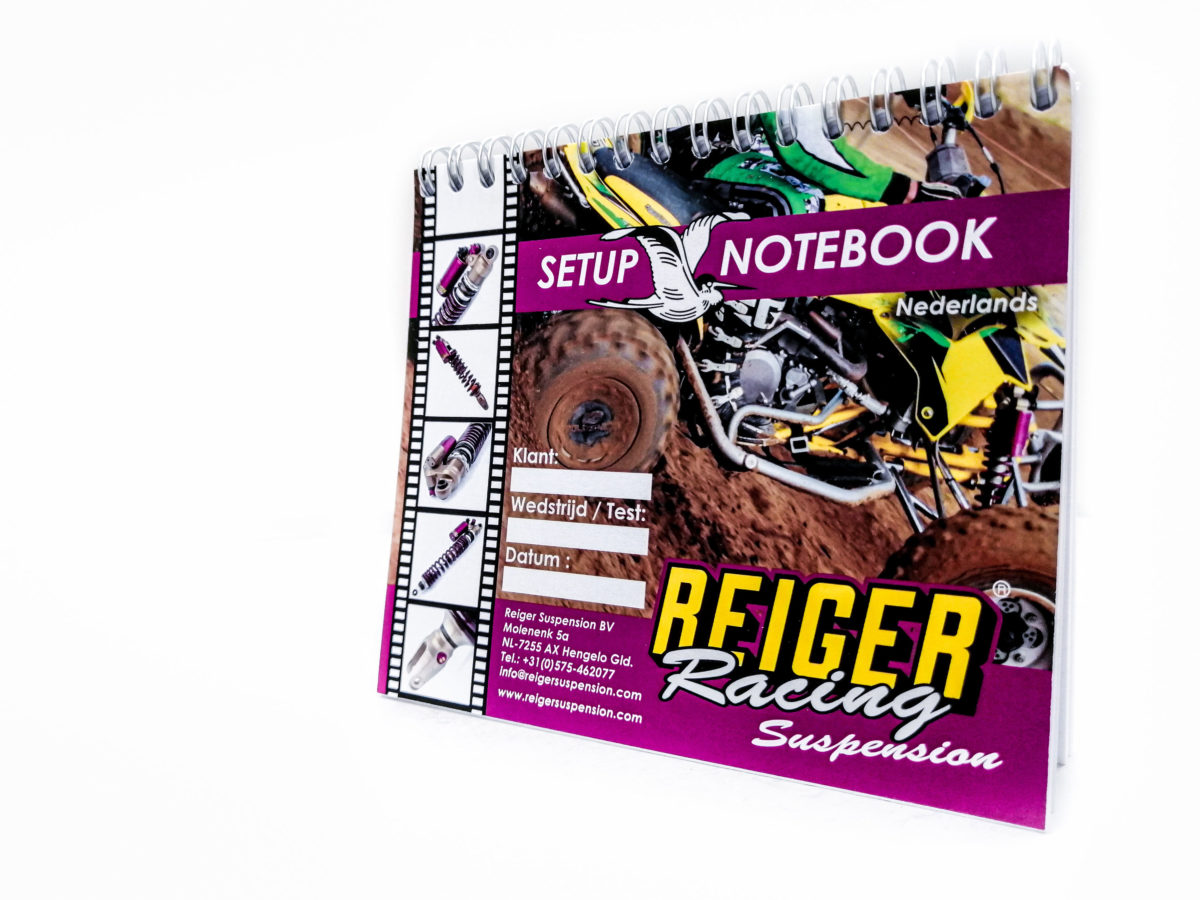 Setupbook Quad NL - Reiger Suspension